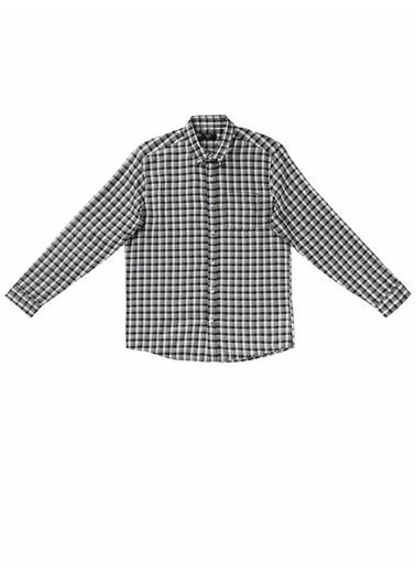 Colin's Regular Fit Shirt Neck Erkek Gri Uzun Kol Gömlek Gri